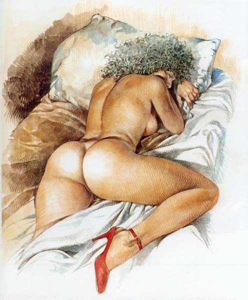 рисованные порно картинки мам