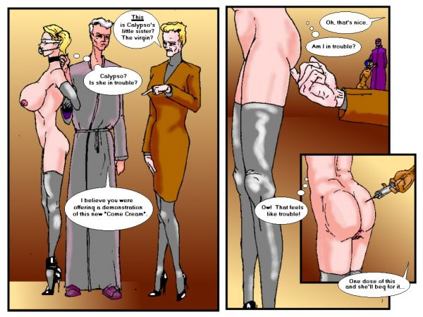 Рисованное порно.